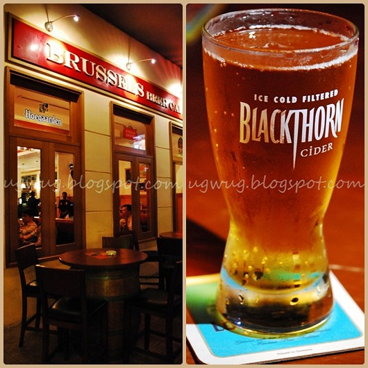 Brussels Beer Garden & Blackthorn Cider