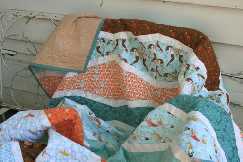 Mermaid School Quilt