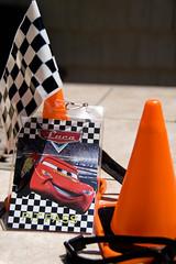 Cars Birthday Invitation (Danielle_S) Tags: birthday party cars racecar disney grandprix invitation pixar lanyard pitpass