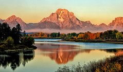 Autumn Smoke and Clouds at the Oxbow (Jeff Clow) Tags: morning autumn fall weather landscape bravo smoke september snakeriver mountmoran tetons grandtetonnationalpark oxbowbend mtmoran jacksonholewyoming