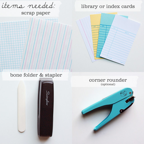 diy little library card notebooks by packagery
