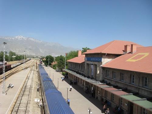 Estação de comboio de Erzincan, Turquia