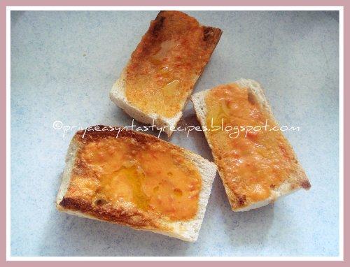 SPanish pan con tomate