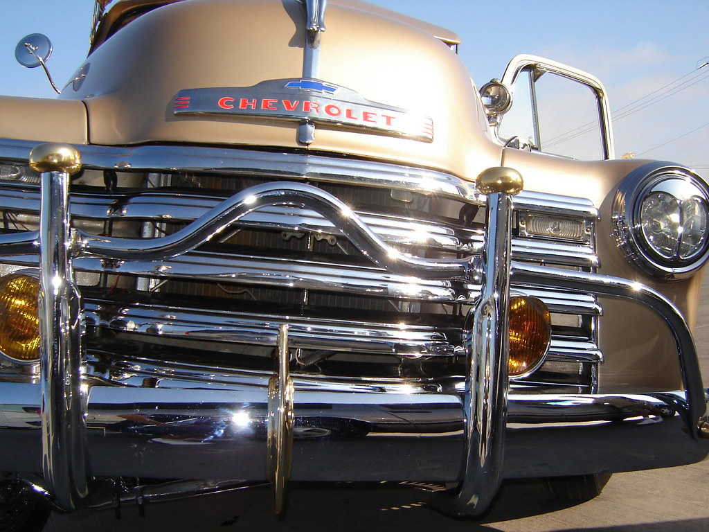 chrome (619lowrider) Tags: show wood cars chevrolet up car fog truck ...