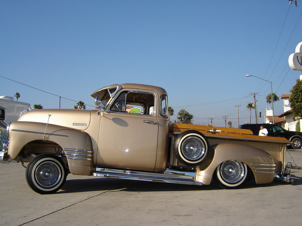 52 up (619lowrider) Tags: show wood cars chevrolet up car truck mexico ...