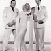 Wallace Beery, Jean Harlow and Clark Gable