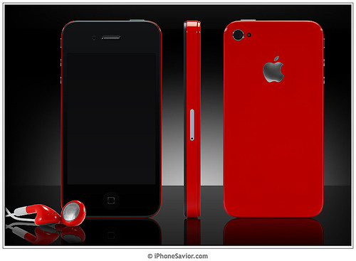 The Red iPhone 4 by ColorWare
