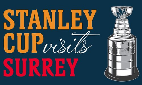 Stanley Cup in Surrey