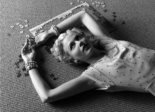 Geof Kern, Girl and Puzzle, 1995