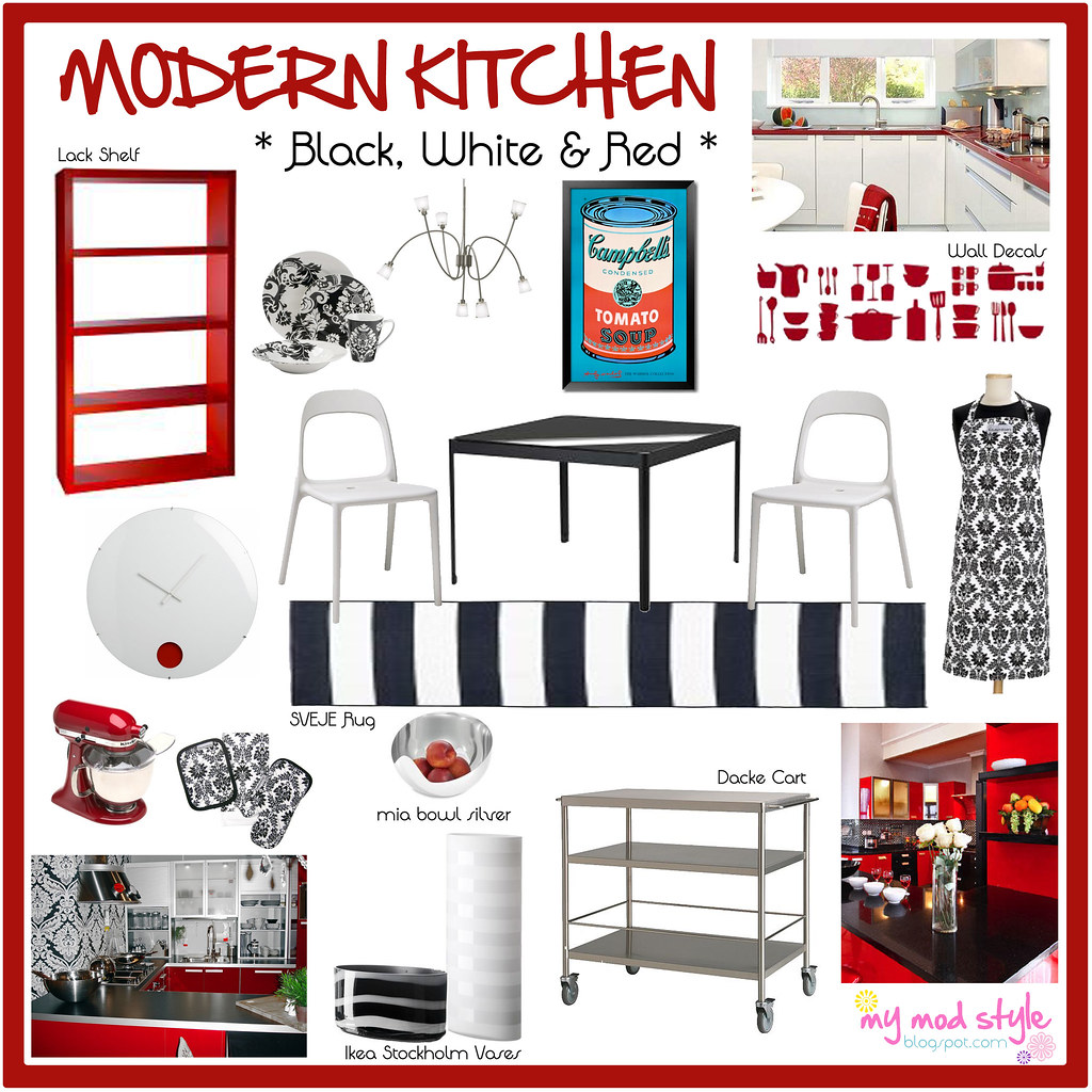 Modern Kitchen Design Board 10x10