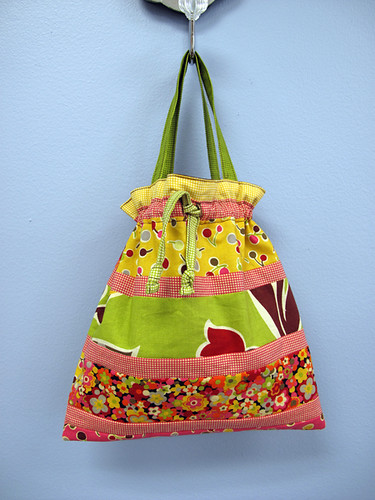 Amy Butler In Town Bag made with Jelly Roll!