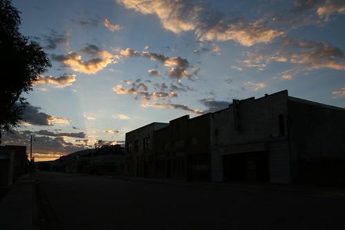 sunrise over carrizozo