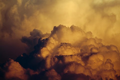 Pegasus (JGo9) Tags: orange cloud storm nature weather yellow clouds canon eos golden day cloudy kentucky ky pegasus dramatic drama t1i
