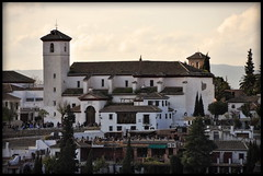 Granada view from the Alhambra (Mike G. K.) Tags: houses church buildings spain cityscape view andalucia granada mikegk:gettyimages=submitted