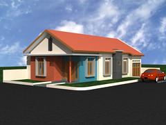 Desain Rumah Perumnas Depok 1 by Indograha Arsitama Desain & Build