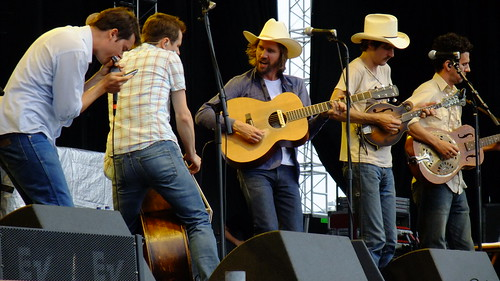 Old Crow Medicine Show at Ottawa Bluesfest 2010
