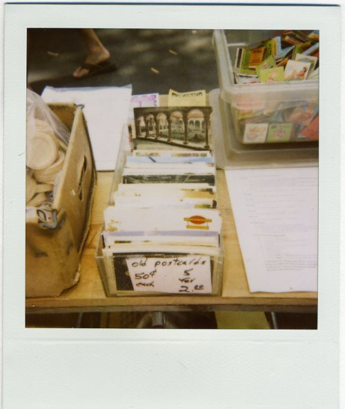 postcards polaroid
