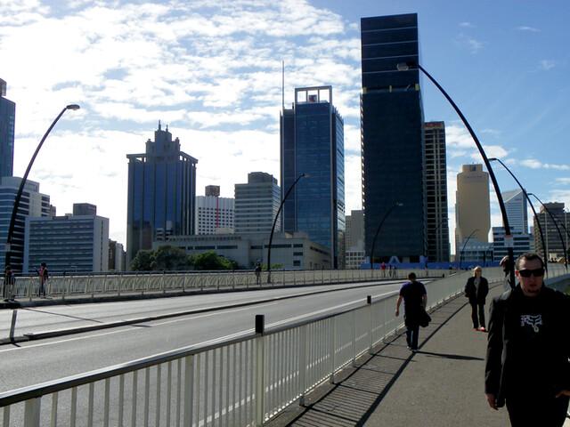 CBD, Brisbane.