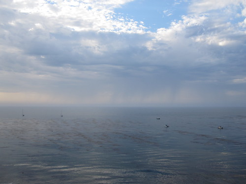 rain over Catalina