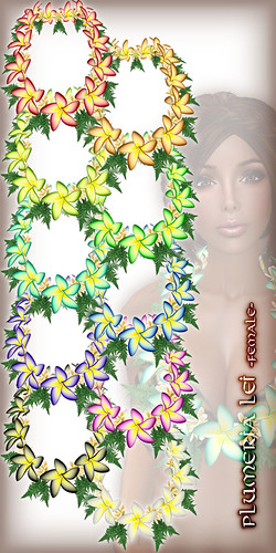 * Charmed * Plumeria Lei (Small) All Colors