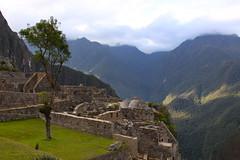 Evening at Machu Picchu