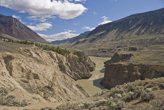 Fraser Canyon Looking South From High Bar Road (showbizinbc) Tags: bc desert canyon fraserriver cariboo chilcotin