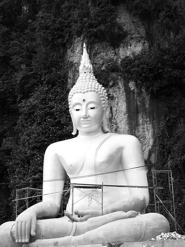 IMG_0934 Buddha in Black and White, Wat Puthanimittam