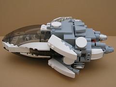 ARC-002 (The Arclight) (TheDarkblane) Tags: lego spaceshi