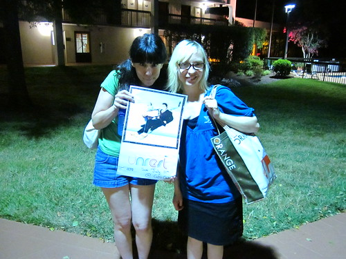 Janice and me after the Unrest show!