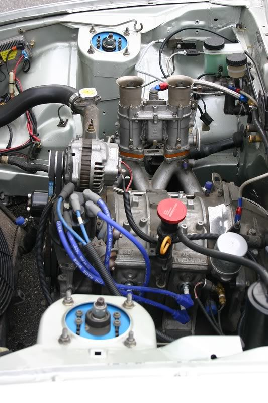 no reason a engine bay cant look like this   this is a rhd car, but still