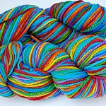 Seconds Sale: Rainbow Prism on Cestari Fine Merino