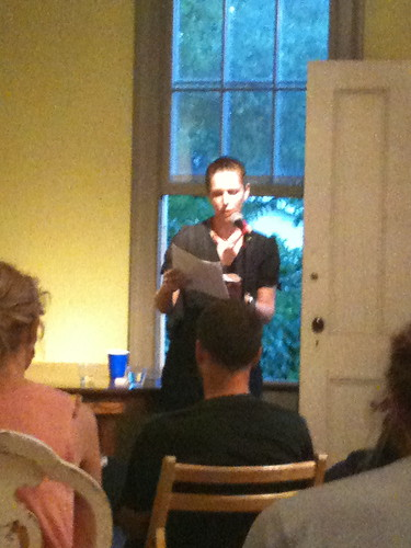 Rebekah Rutkoff reading