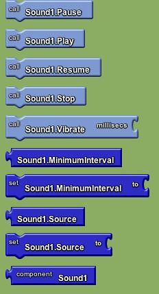 Google app invemtor - sound