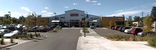 parking lot & Sunflower Market, HGV (Google Earth)