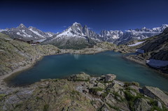 Lac Blanc (Philippe Saire || Photography) Tags: mountain lake france alps nature montagne alpes canon landscape eos lac sigma wideangle 1020mm paysage chamonix blanc hdr montblanc gettyimages hautesavoie photomatix 450d philippesaire