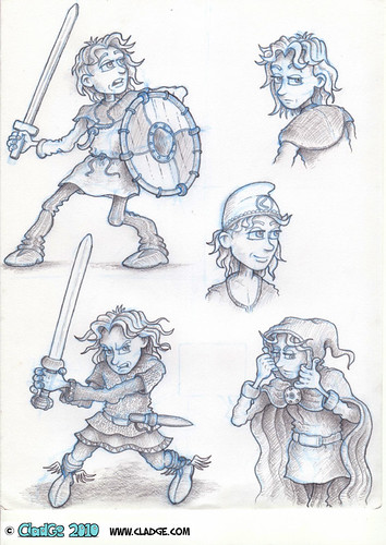 Jack - character sheet - pencilled