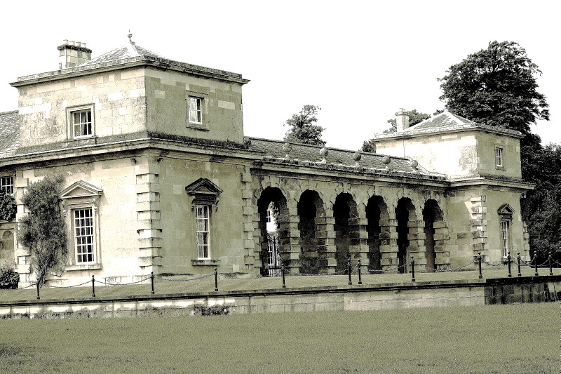 Stable Block at Studley Royal, 2010