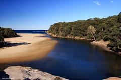 Wattamolla - Royal National Park (Black Diamond Images) Tags: royalnationalpark nsw australia beach inlet estuary lagoon wattamolla blackdiamondimages australianbeach australianbeaches beaches beachaustralia bdi clear day nswnationalparks