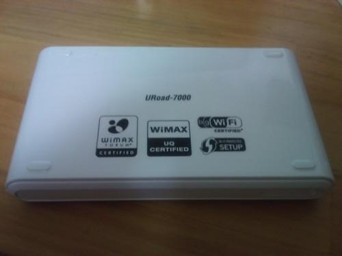 URoad-7000's back