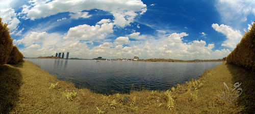 Panorama of Putrajaya Lake