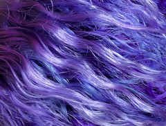 I Dyed My Hair Purple (wisely-chosen) Tags: selfportrait july 2010 purplehair cameraraw lavenderhair naturallycurlyhair adobephotoshopcs4 manicpanicultraviolet manicpanicpurplehaze manicpanicshockingblue manicpanicmysticheather manicpanicplumpassion