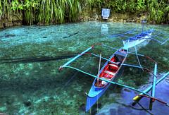 Silent Currents (.Lallie.) Tags: travel boats philippines handheld hdr mindanao popoy 3exposures agusandelsur nikond90 hinatuan westernmindanao enchantedriver i♥pinas