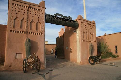 Museu do Cinema em Ouarzazate, Marrocos