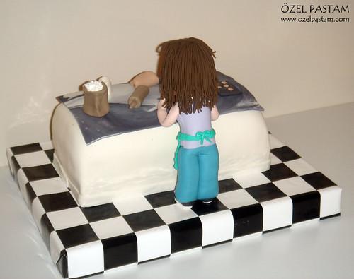Seda'nın Mutfak Pastası / Kitchen Cake