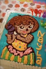 Dora (wanna be) cake