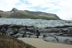 Svinafell glacier (Andrea Schaffer) Tags: summer ice island iceland islandia july dirty glacier ísland 2010 islanda vatnajökull 冰島 öræfajökull canonefs1755mmf28isusm svinafell アイスランド canon450d