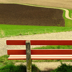 after the storm (duqueros) Tags: sky field bench way square schweiz switzerland view suisse feld bank aussicht svizzera weg acker kantonzrich wallisellen unterland duqueiros