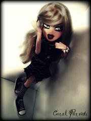 BNTM [FLICKR EXCLUSIVE] - Challenge 2 - Your Emotional side - Melody (option 1/4) (Carol Parvati ) Tags: doll contest melody bratz cloe themovie bntm bndm carolparvati
