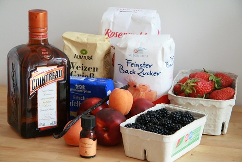 Cointreau & fruits d'été