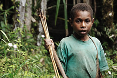 The Young Archer (nickkuchmak) Tags: travel mountain trekking trek indonesia outdoors highlands southeastasia hiking traditional dani tribal adventure missionary backpacking tribes backcountry tribe papua lani rtw cannibal indigenous newguinea aroundtheworld westpapua yali honai irianjaya wamena papuan angguruk theworldonatoilet onatoilet
